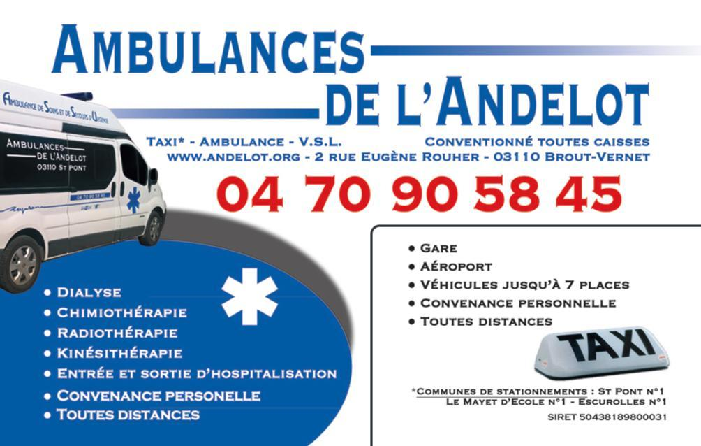 Ambulances de l'Andelot